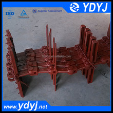 ISO drop forged conveyor chain with different pitch