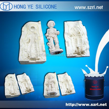 Good quality rtv-2 mold making silicone rubber for plaster statue