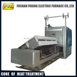 bogie resistance annealing furnace with 1200 deg C