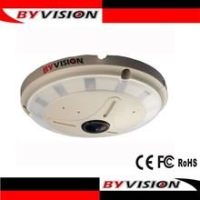 El mejor vendedor de la alta definición 1.3 megapíxeles 360 grado lente ojo de pez cámaraip panorámica p2p onvif dptz tarjeta sd