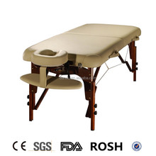 portable folding foldable wooden massage table couch bed