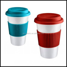 Coffee Tea Thermal Insulated Stainless Plastic Travel Mug Vacuum Cup Flask 20oz tea cup for drinking