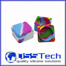 High quality 3ml walmart food storage containers/ silicone bho container/ silicone bho wax and oil container