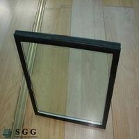 Clear toughened hollow glass
