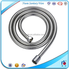 chrome plated stainless steel bidet shower hose with brass nut