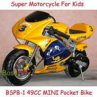 Big Fuel Capacity Kids Bike 49cc Pocket bike for Sale