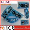 2014 hot sale sport silicone bracelet with fast delivery time