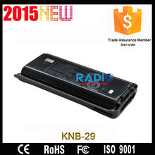 TK-2307 TK-3307 rechargeable FM transceiver battery KNB-29