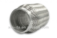 exhaust car muffler with extension tube