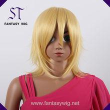 Hot sales 100 kanekalon kids synthetic hair wigs
