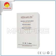 Wholesale Price Sub Ohm Tank Sense Herakles with 0.6ohm And 0.2ohm coil for 50W-100W