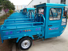 60v 1200w front loading electric cargo tricycle
