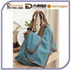 2015 Best Selling Popular Durable Canvas Handbag Big Wholesale Lady Tote Outdoor Messenger Bag Shoulder Women Mummy Diaper Bag