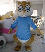 lightweight alvin chipmunks mascot costume adult alvin chipmunks mascot costume