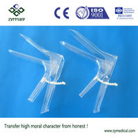 disposable medical plastic vaginal speculum inspection