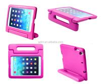 Full protector EVA bumper case for Apple iPad mini 2 mini 3 kids friendly using drop resistant cover