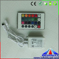 IR 24 Key Remote RGB LED Controller for Chasing Running Strip