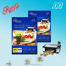 Factory price A4 double matte inkjet paper ,Wide Format and Thick Glossy Photo Inkjet Paper