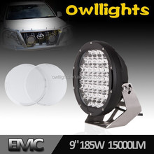 auto parts accessories NEW Design 9 Inch LED Driving light 185w LED Off Road Light led car OL9010-185
