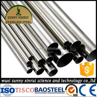 6 inch welded stainless steel water pipe