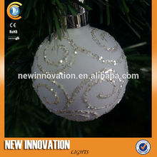 Decoración de navidad, bola de navidad, ornamento de la navidad