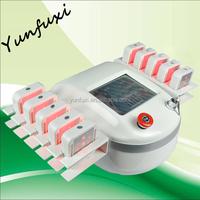 Real 980nm & 650nm lipo laser lipolysis fat, 10 big paddles lipo laser for sale, best lipo laser machine portable