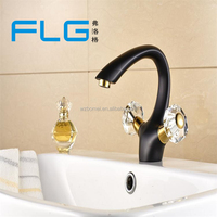Orb And Gold single Hole Basin Bar Sink Faucets