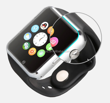 his and hers designer Comfortable and thin curved design V8 call phone digital watch with bluetooth