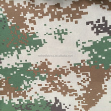 waterproof camouflage printed 100% polyester fabric for tent cloth bag