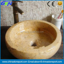 Natural Stone Polished Small Wash Hand Basin Sizes