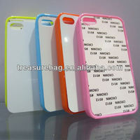 Sublimation blank phone case for IP4 with Aluminum sheet