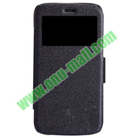 Litchi Texture flip Leather Case cover for Motorola Moto G XT1032