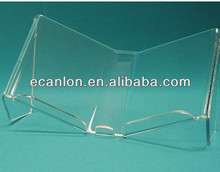 Acrylic open book display stand