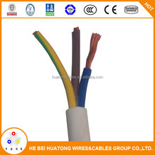 3 core stranded pvc insulated flexible copper wire with CE certification