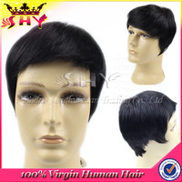 New arrival black men lace front wigs