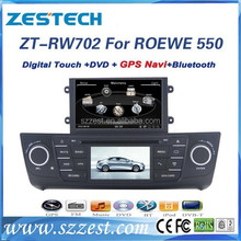 auto parts for roewe 550 accessories with steering wheel control rearview camera bluetooth 3G radio
