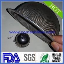 Stainless steel mesh tea leaves spice strainer media basket(Factory)