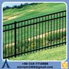 ornamental iron fence/decorative garden fencing/school fencing