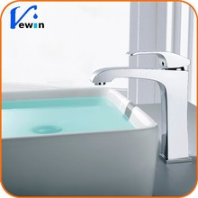 Ewin 2015 HOT RECOMMEND Basin faucet Contemporary chrome brass Bidet basin tapware fixed