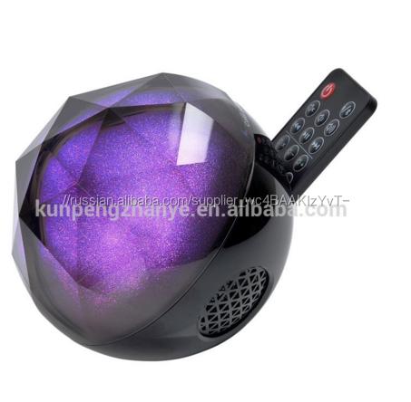 3D Хрустальный Шар Объемный Звук Mini Bluetooth-динамик