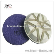 resin pucks for concrete dry