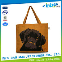 Top quality portable eco-friendly canvas tote bag blank