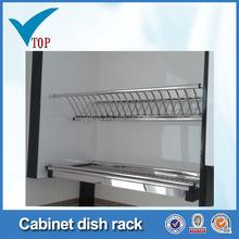 Kitchen cabinet hot dish holder
