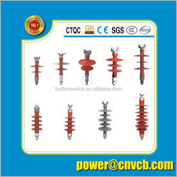 composite polymer crossarm insulator use on hv overhead line laminated electrical conductor insulator