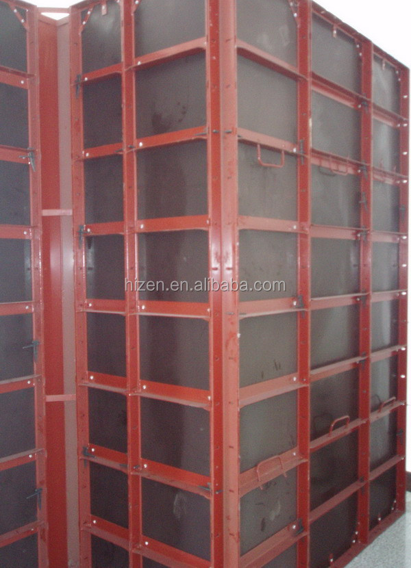 Formwork panel for concrete wall forming