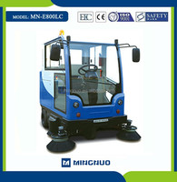 rechargable sweep machine, discharging cleaner car ,Electromagnetic cleaning sweeper truck