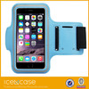 sky blue Soft Plastic Waterproof Sport Armband for iPhone 5