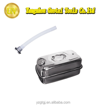 High quality stainless steel portable metal oil tank with oil spout