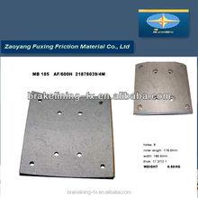 asbestos free car vehicle brake pads lining MB/185