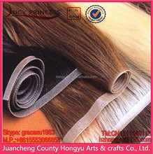 HOT 22 inches hand tied pu skin/tape weft remy hair extensions pu hand tied weft tape hair/Pu-tape weft